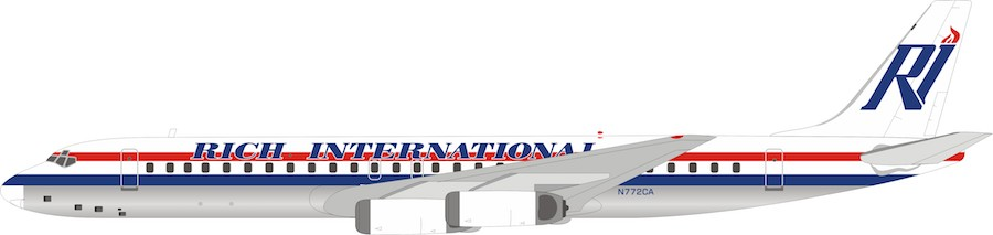 Rich International Airways Douglas DC-8-62 N772CA (1:200)