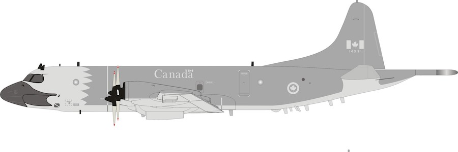 Canadian Air Force Lockheed CP-140 Aurora 140111 (1:200)