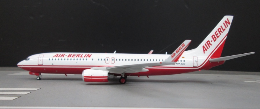 Air Berlin Boeing 737-86J D-ABBA (Limited 83pcs) (1:200)