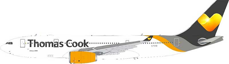 Thomas Cook Airlines Airbus A330-243 G-TCXB With Stand (1:200)