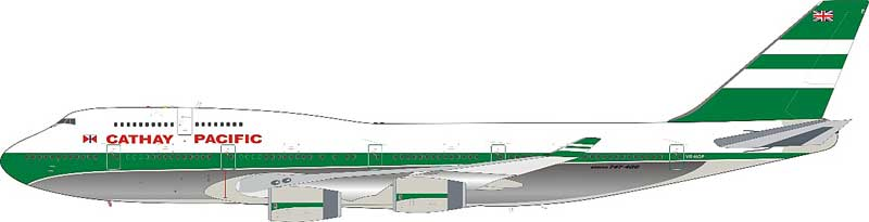 Miscellaneous Pacific Airways 747-467 VR-HOP (1:200)