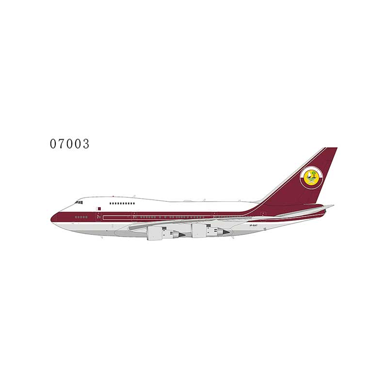 Qatar Amiri Flight 747SP VP-BAT (1:400)