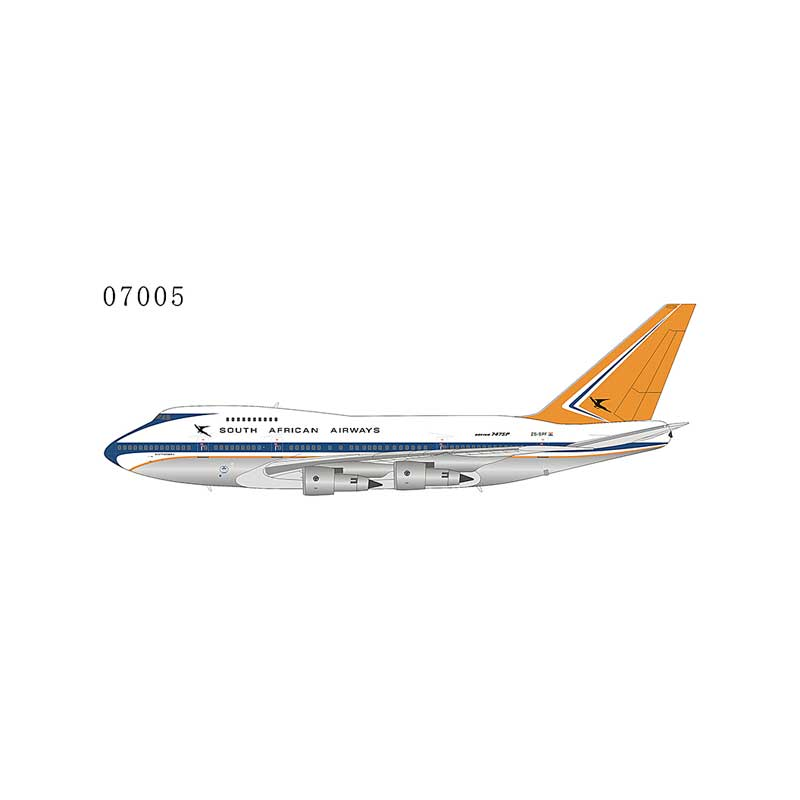 South African Airways 747SP ZS-SPF Delivery Livery (1970s) (1:400)