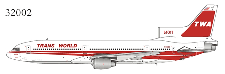 Trans World Airlines - TWA L-1011-200 N11003 (1:400)