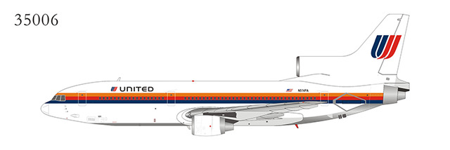 United Airlines L-1011-500 N514PA Saul Bass Livery (1:400)
