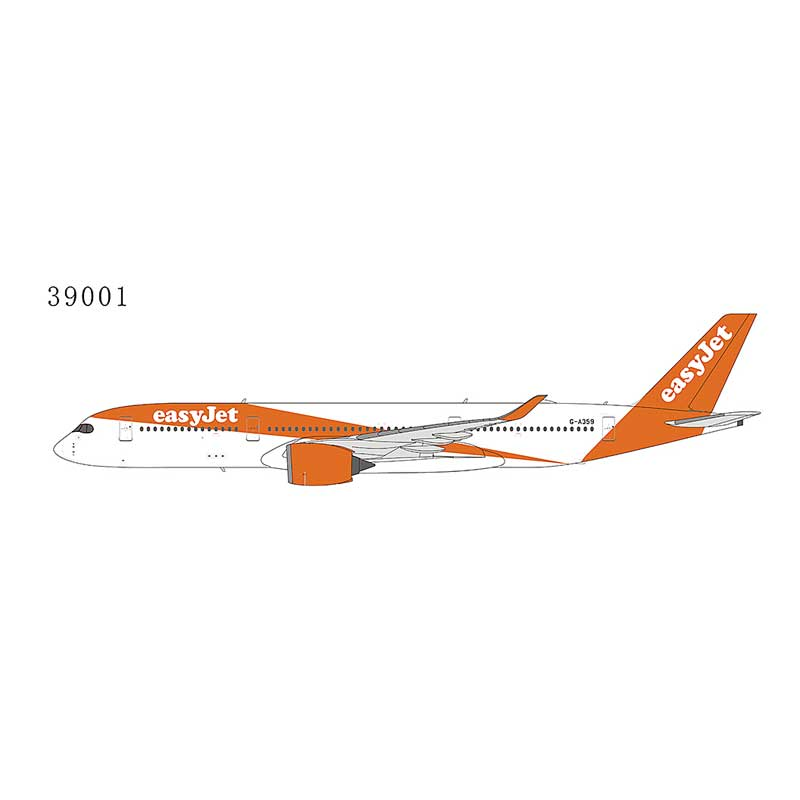 EasyJet Airline A350-900 G-A359 (1:400)