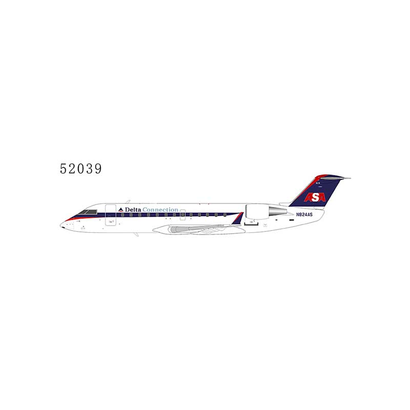 Delta Connection CRJ-200ER N824AS Operated by ASA Atlantic Southeast Airlines (1:200)