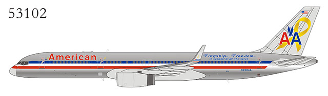 American Airlines 757-200 Winglets N690AA Flagship Freedom (1:400)