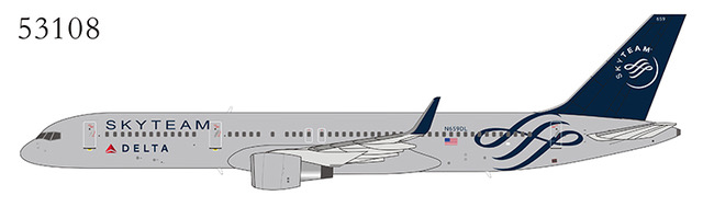 Delta Air Lines 757-200/w N659DL SkyTeam (1:400)