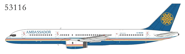 Ambassador Airways 757-200 G-BUDX (1:400)