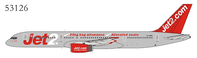 """Jet2 757-200 G-LSAA """"Great Package Holidays, Great Flight Times"""" (1:400)"""