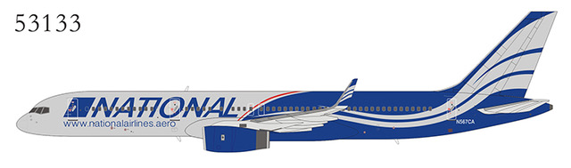 National Airlines 757-200 N567CA (1:400)