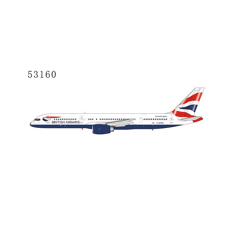 British Airways 757-200 G-BMRB Union Flag with RB211-535C engine (1:400)