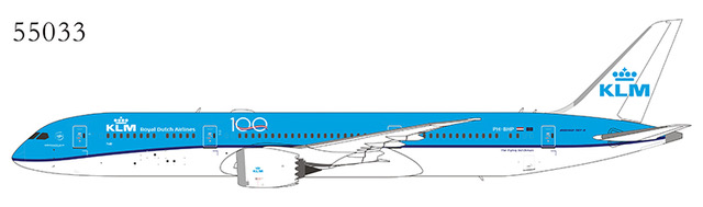 "KLM Royal Dutch Airlines 787-9 Dreamliner PH-BHP ""Tulip"" 100th Anniversary (1:400)"