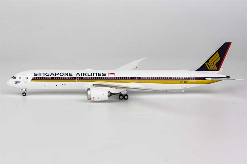 Singapore Airlines 787-10 Dreamliner 9V-SCP 1000th 787 Dreamliner (1:400)