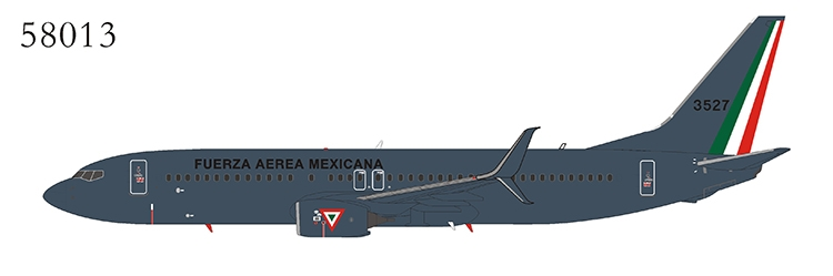 Mexico - Air Force 737-800/w 3527 with scimitar winglets (1:400)