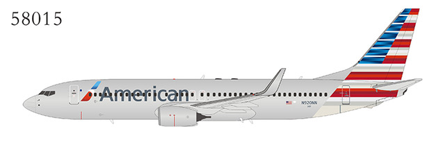 American Airlines 737-800/w N920NN New Colors (1:400)