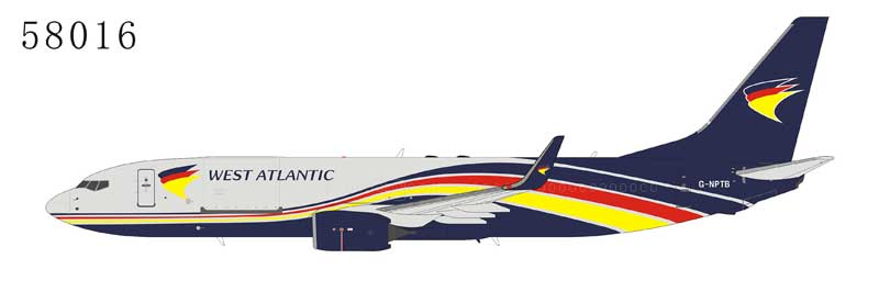West Atlantic Cargo 737-800BCF with Winglets G-NPTB (1:400)