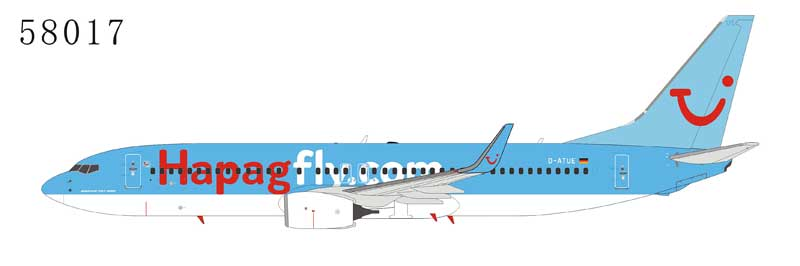 Hapagfly 737-800 with Winglets D-ATUE (1:400)