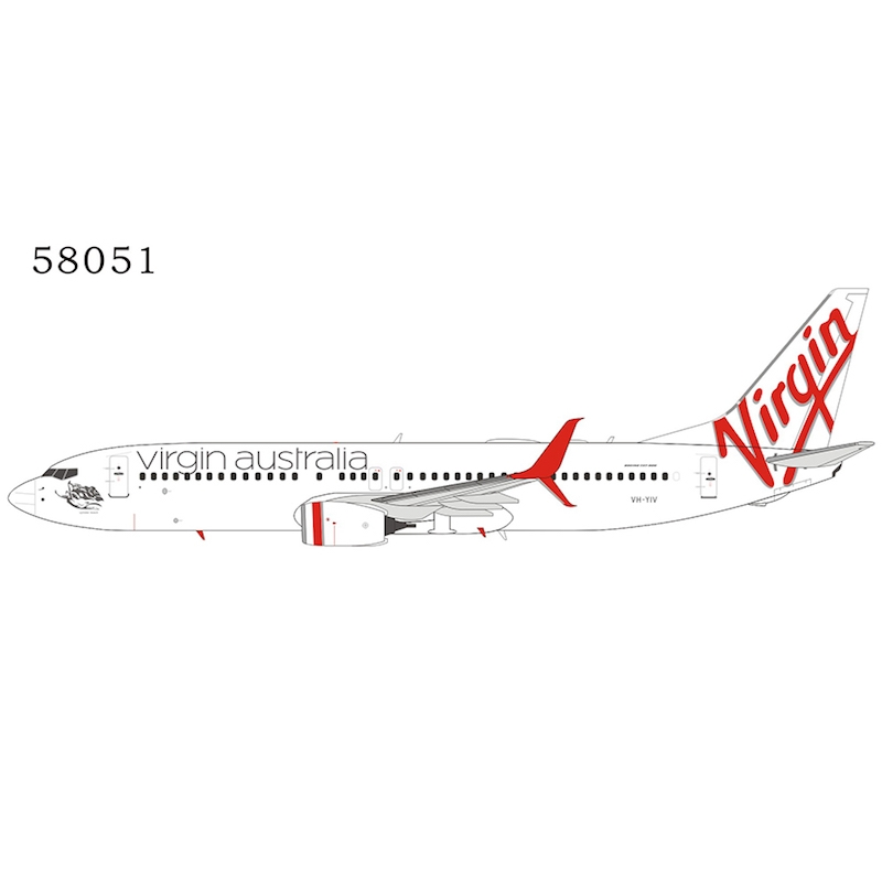 Virgin Australia 737-800 VH-YIV with scimitar winglets (1:400)