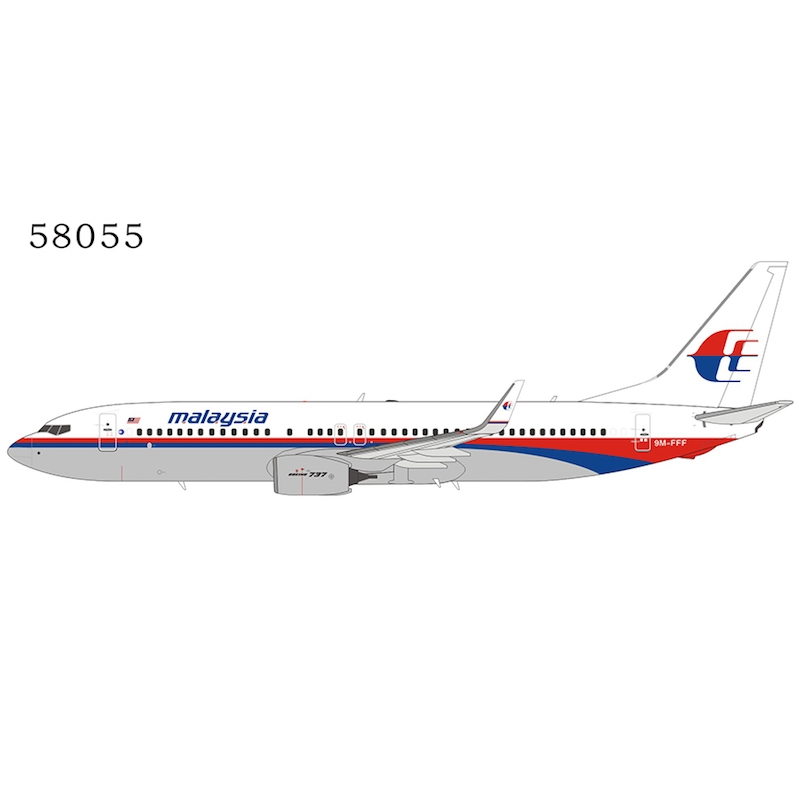 Malaysia Airlines 737-800 9M-FFF o/c (1:400)