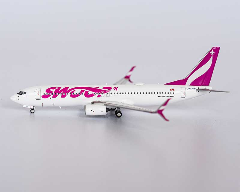 "Swoop 737-800 Winglets C-GDMP named ""Oh Canada"" with scimitar winglets (1:400)"