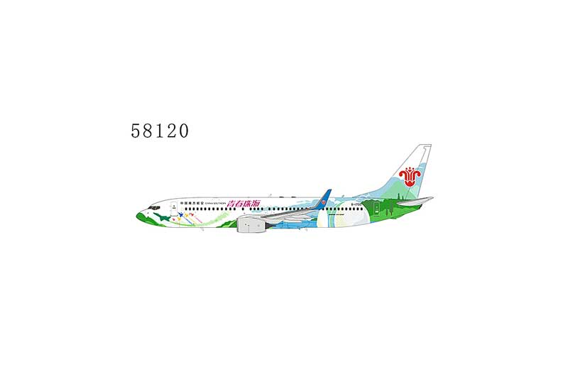 """China Southern Airlines 737-800 with Winglets B-1700"""" Zhuhai City of Youth"""" (1:400)"""