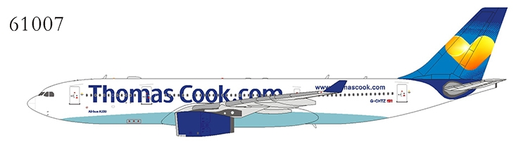 Thomas Cook Airlines A330-200 G-CHTZ sun heart livery (1:400)