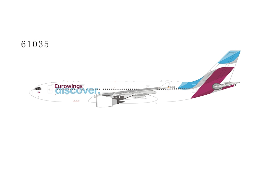 Eurowings Discover A330-200 D-AXGB (1:400)