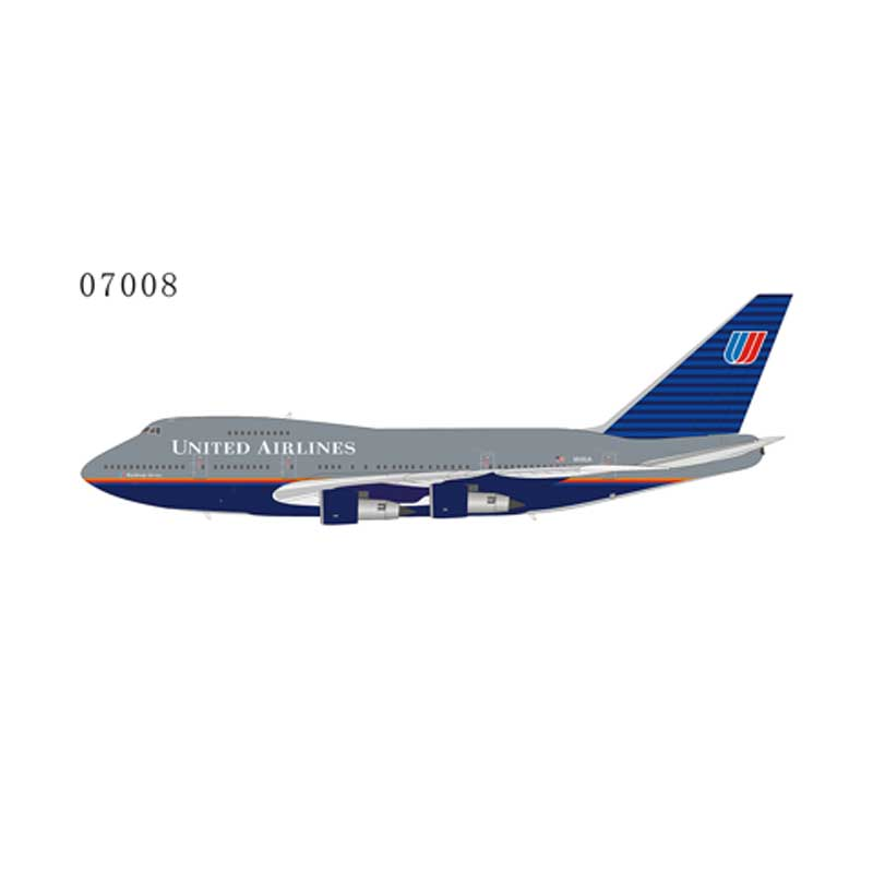 "United Airlines 747SP N145UA ""Battleship"" livery (1:400)"