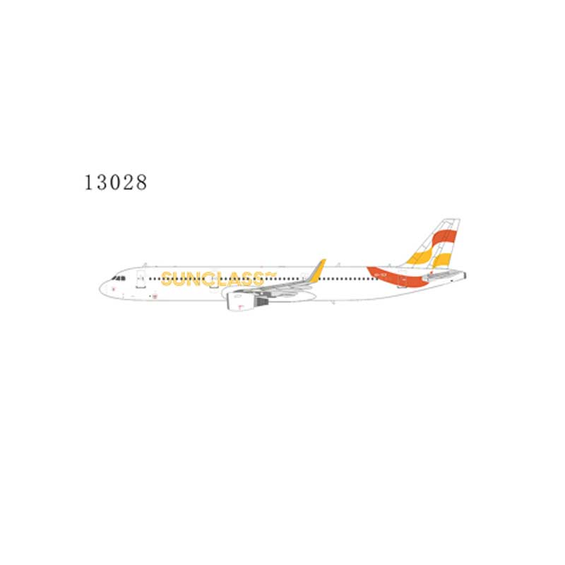 Sunclass Airlines A321-200 winglets OY-TCF (1:400)