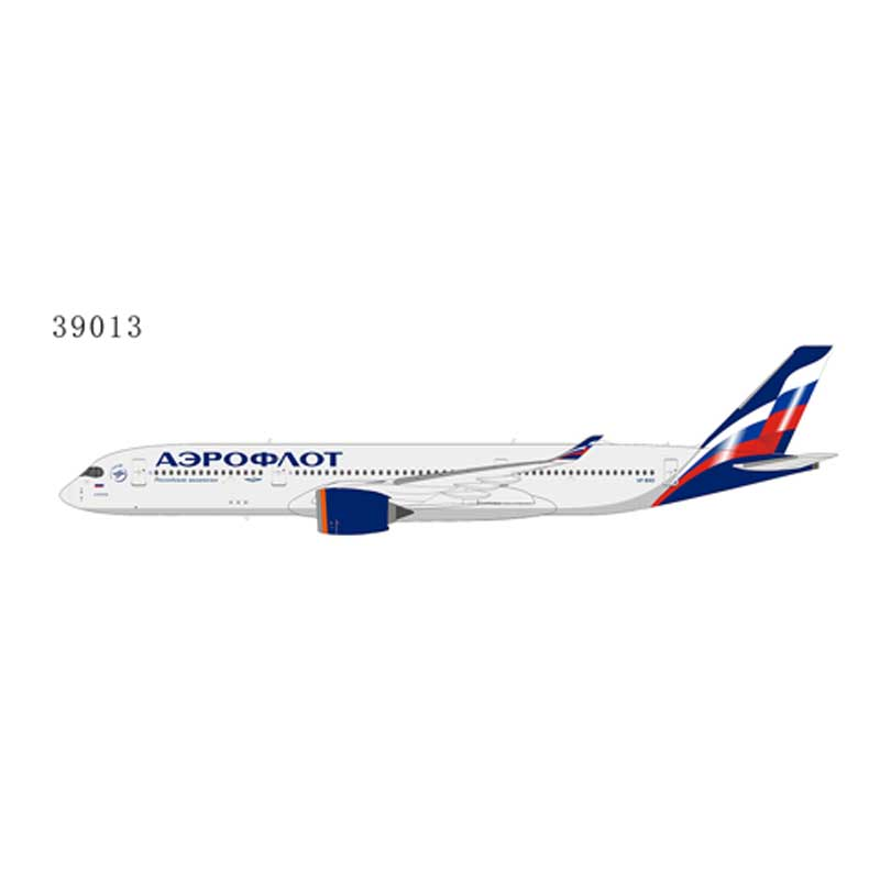 Aeroflot Russian Airlines A350-900 VP-BXD (1:400)