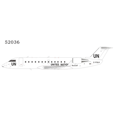 United Nations CRJ-200LR C-FXLH (1:200)