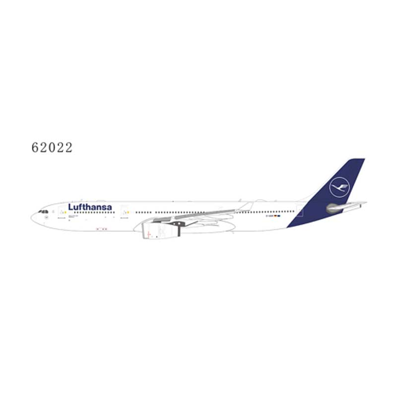 Lufthansa A330-300 D-AIKR 2019 New Colors (1:400)