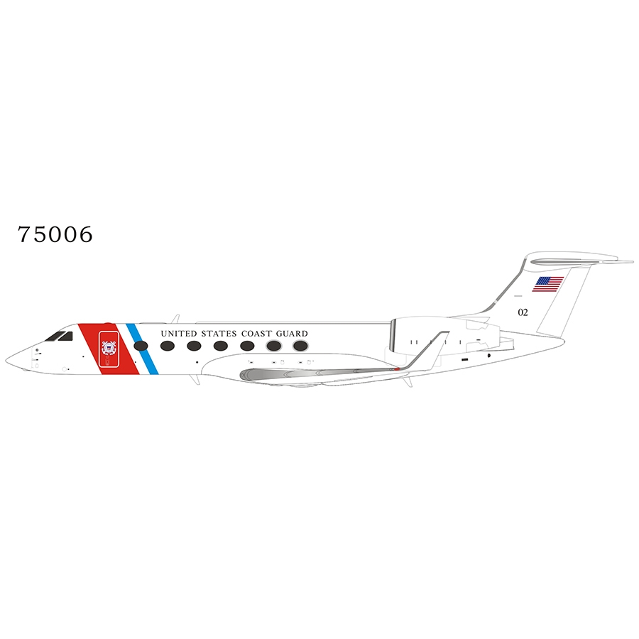 US Coast Guard C-37B 02 (Gulfstream G550) (1:200)