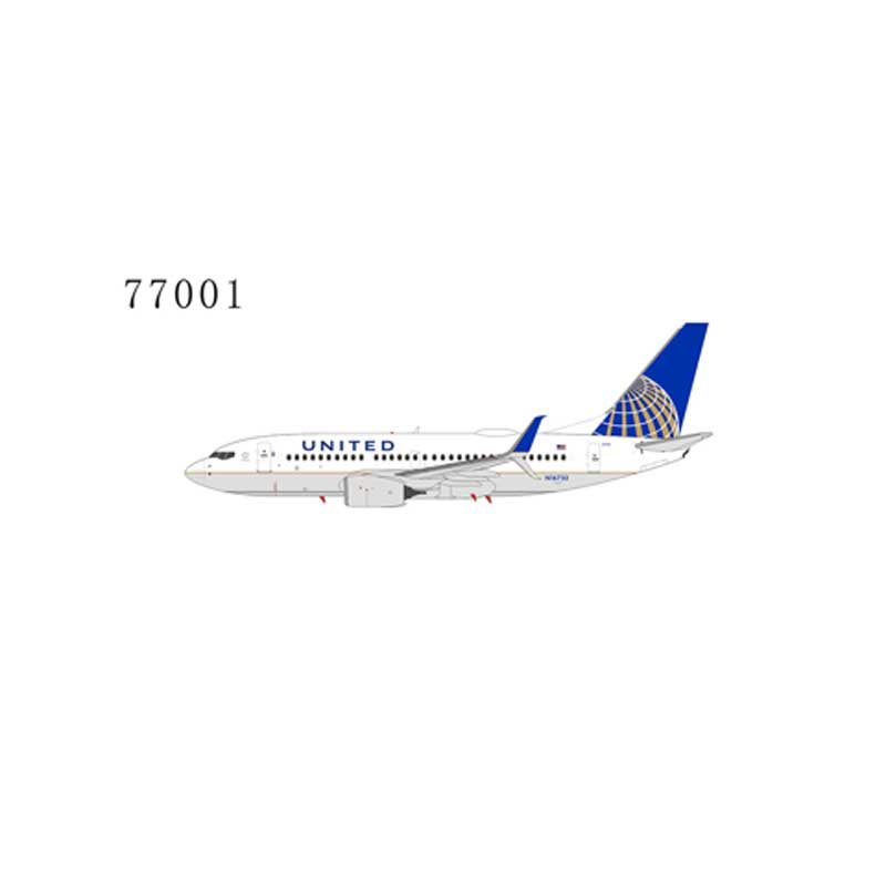 United Airlines 737-700 N16732 with scimitar winglets (1:400)
