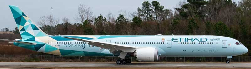 """Eithad 787-10 A6-BMH """"2020s New Colors"""" (1:400"""