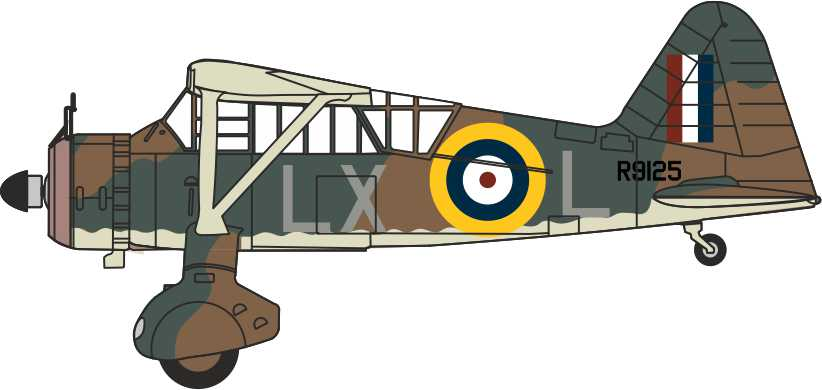 Westland Lysander Mk.III, 225 Squadron, Royal Air Force, WWII, RAF Museum, Hendon (1:72)