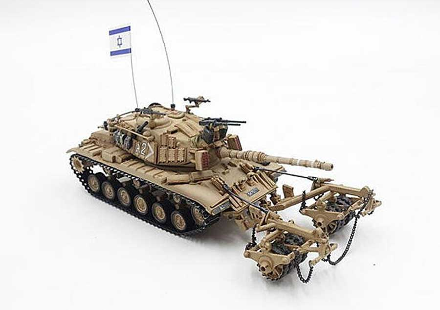 Magach 6 (M60A1) with KMT-4 Mine Roller Israel Defense Forces (1:72)