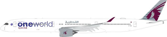 Qatar A350-100 One World Livery A7-ANE (1:400)