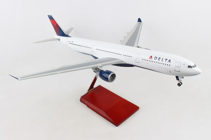Delta A330-300 With Wood Stand & Gear 1:100