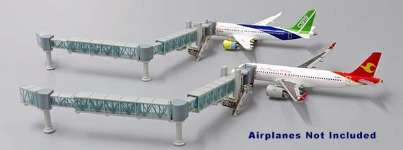 Narrow Body Airliner Passenger Air Bridge Jetway, Aircraft not included (1:400)