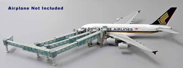 A380 Airliner Passenger Air Bridge Jetway, Aircraft not included (1:400)