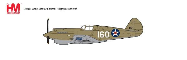 P-40B Warhawk Die Cast Model, New Tooling! 2nd Lt. George Welch, 47th PS, 15th PG, Oahu, 1941 (1:48)