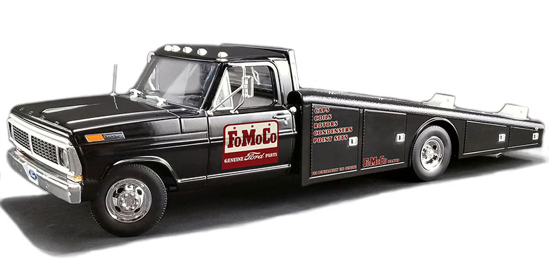 Ford Motor Company Ford F-350 Ramp Truck (1:18)
