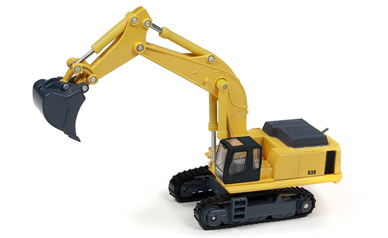 Hydraulic Tracked Excavator 1:87 HO Scale