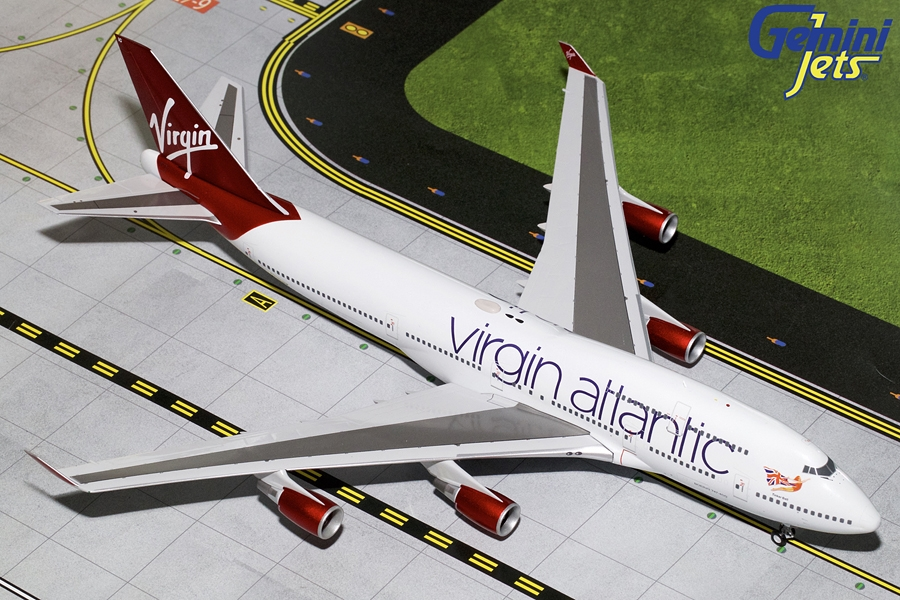Virgin Atlantic B747-400 G-VBIG (1:200)