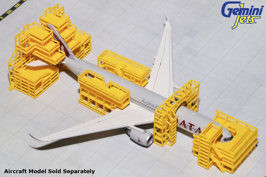 Aircraft Maintenance Scaffolding NEW (1:400)