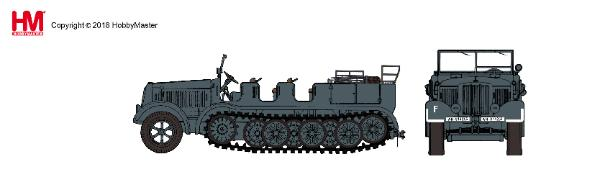Sd. Kfz.7 8-Ton Half Track 10th Infantry Division, 1942 (1:72)