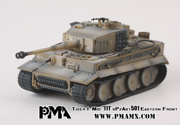 """Sd.Kfz.181 Pz.Kpfw.VI Ausf.E """"Tiger I"""" Tank 1./S.Pz.Abt.501, Eastern Front, 1944 (1:72)"""